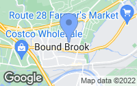 Map of Bound Brook, NJ