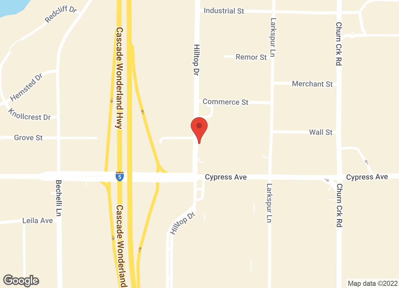 Google Map of VCA Asher Animal Hospital