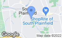Map of South Plainfield, NJ