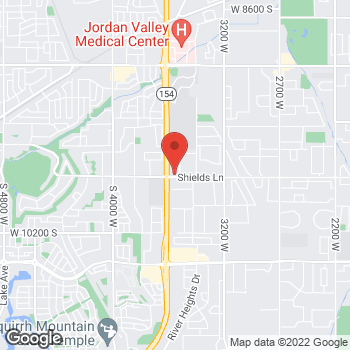 Map of Curtis Andrews, DO at 3556 W 9800 S, South Jordan, UT 84095