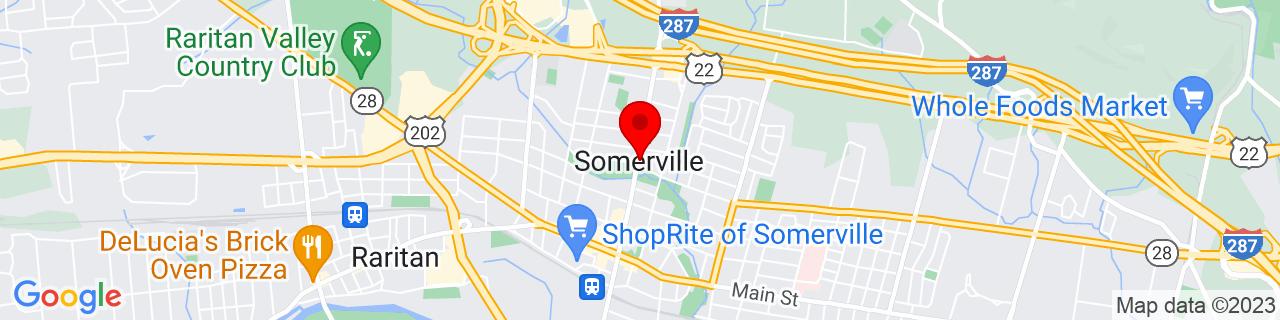 Google Map of 40.5742696, -74.60987999999999