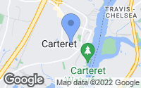 Map of Carteret, NJ