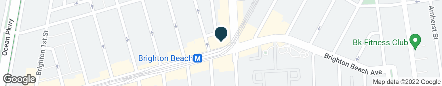 Google Map of713 BRIGHTON BEACH AVE