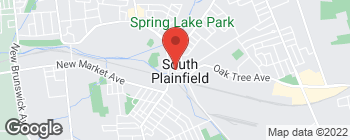 Map of 224 Hamilton Blvd in South Plainfield