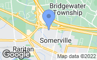 Map of Somerville, NJ