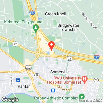 Map of LOFT at 620 Commons Way, Bridgewater, NJ 08807