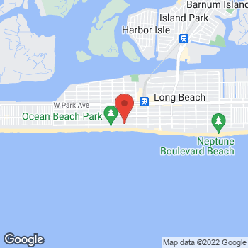 Map of Optimum WiFi Hotspot at 1 Magnolia Blvd, Long Beach, NY 11561