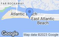 Map of Atlantic Beach, NY