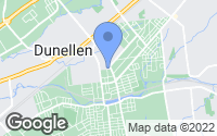 Map of Dunellen, NJ
