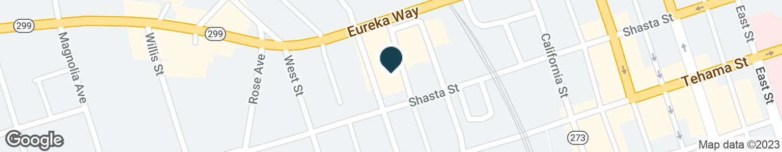 Google Map of1775 EUREKA WAY