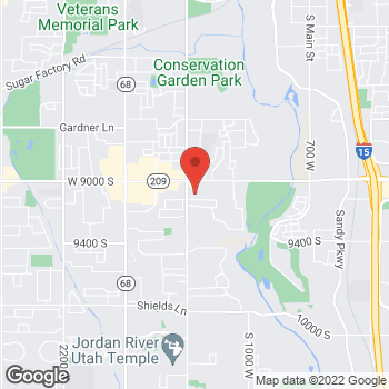 Map of Kevin Lash, MD at 9071 S 1300 W, West Jordan, UT 84088