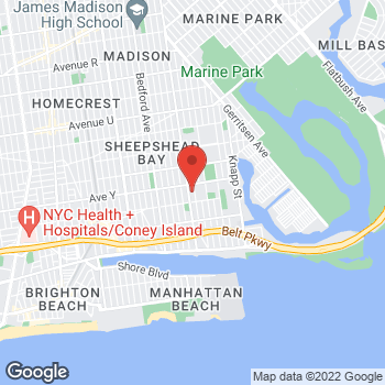 Map of Rite Aid at 3823 Nostrand Avenue, Brooklyn, NY 11235