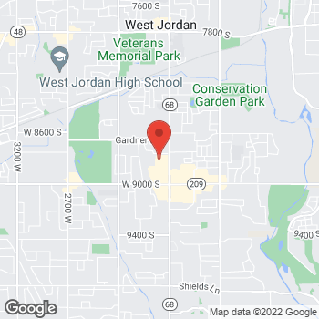 Map of Joshua Maxwell, MD at 8822 S Redwood Rd, West Jordan, UT 84088