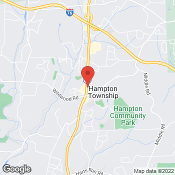 Map of Verizon Authorized Retailer – TCC at 4678 William Flynn Hwy, Allison Park, PA 15101
