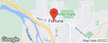 Map of 1049 Main St in Fortuna