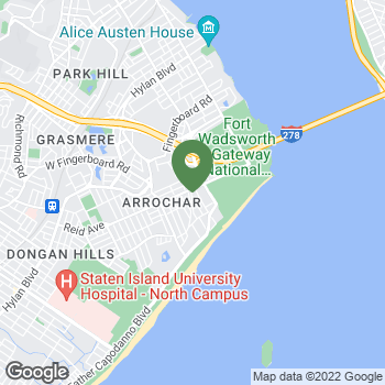 Map of Terminix at 114 McClean Ave, Staten Island, NY 10305