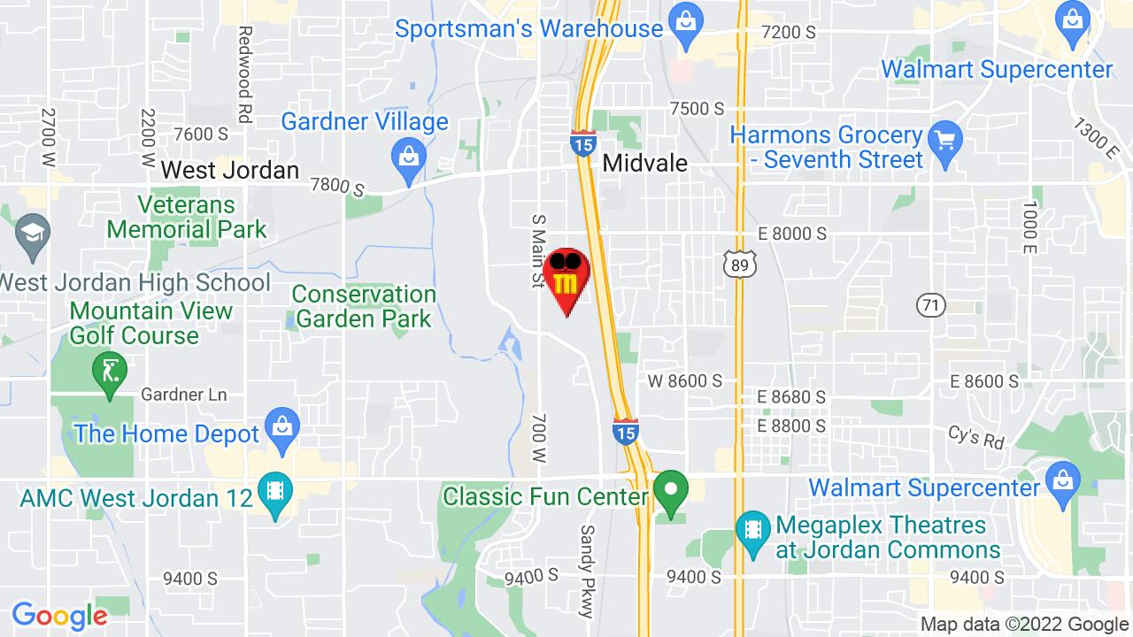 Google Map of Salt Lake Commercial Pest Control