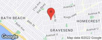 Mapa de 130 Highlawn Ave en Brooklyn