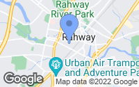 Map of Rahway, NJ