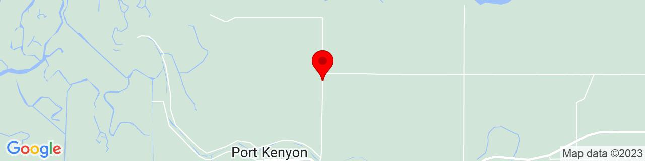 Google Map of 40.605638, -124.274273