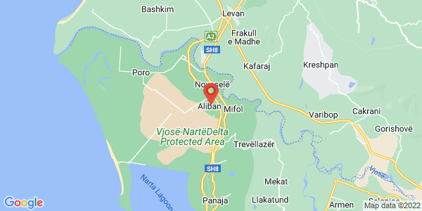 Google Map of Aliban, Αλβανία