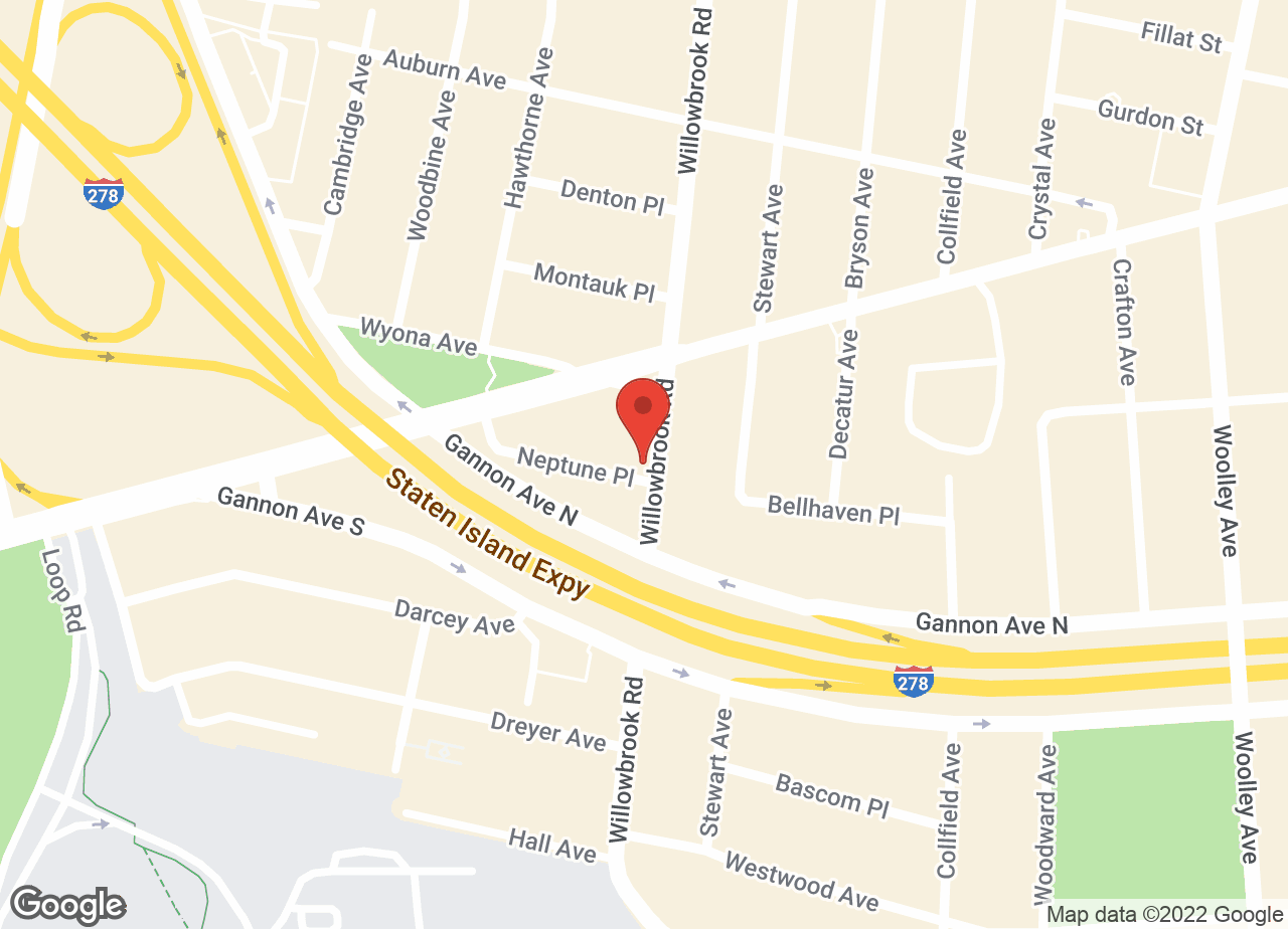 Google Map of Staten Island Animal Hospital