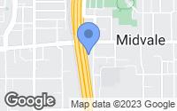 Map of Midvale, UT