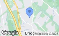 Map of Bridgewater, NJ