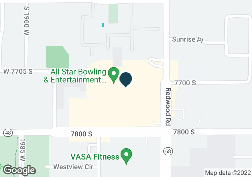 Google Map of7794 S REDWOOD RD