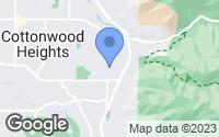 Map of Cottonwood Heights, UT