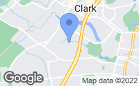 Map of Clark, NJ