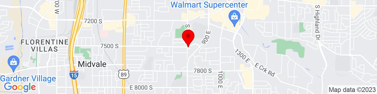 Google Map of 40.6148234, -111.871953