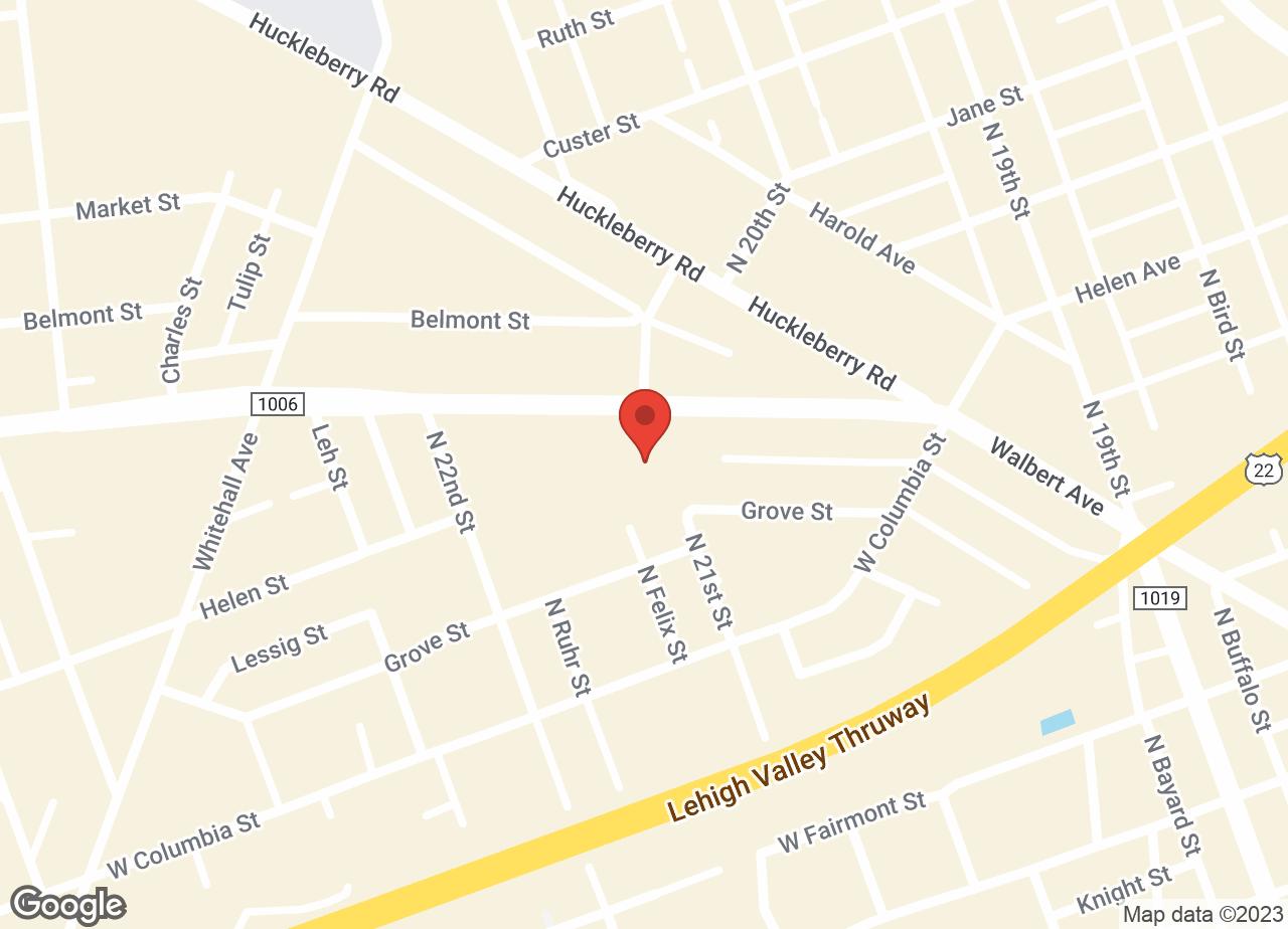 Google Map of VCA ABE Animal Hospital