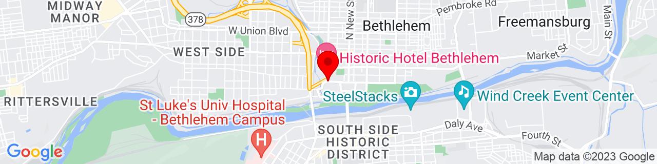 Google Map of 40.61881, -75.3818874