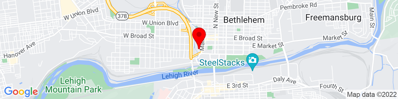 Google Map of 40.6197389, -75.38288349999999