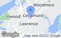 Map of Cedarhurst, NY