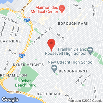 Map of Rite Aid at 7009 13th Avenue, Brooklyn, NY 11228