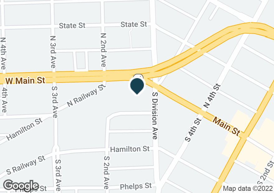 Google Map of101 W MAIN ST