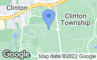 Map of Clinton Township, NJ