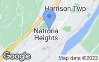 Map of Natrona Heights, PA