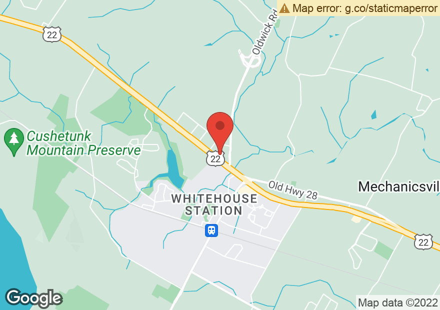 Google Map of 418 US HIGHWAY 22 W