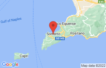 Map of Sorrento