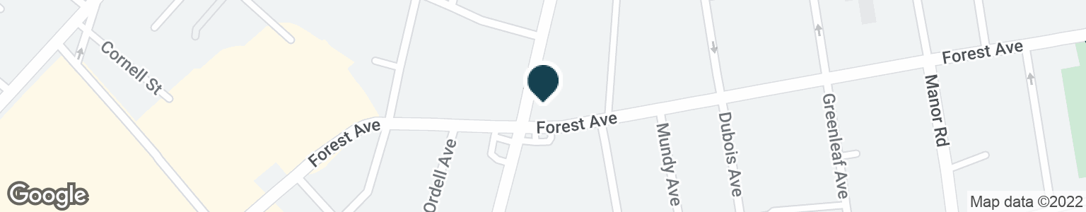 Google Map of1227 FOREST AVE