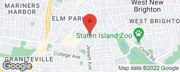 Map of 1267 Forest Ave in Staten Island