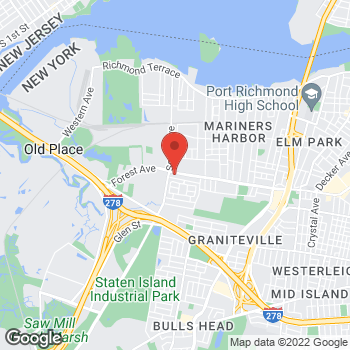 Map of Checkers at 2270 Forest Ave, Staten Island, NY 10303