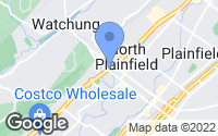 Map of North Plainfield, NJ