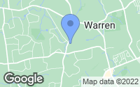 Map of Warren, NJ