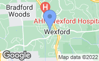 Map of Wexford, PA
