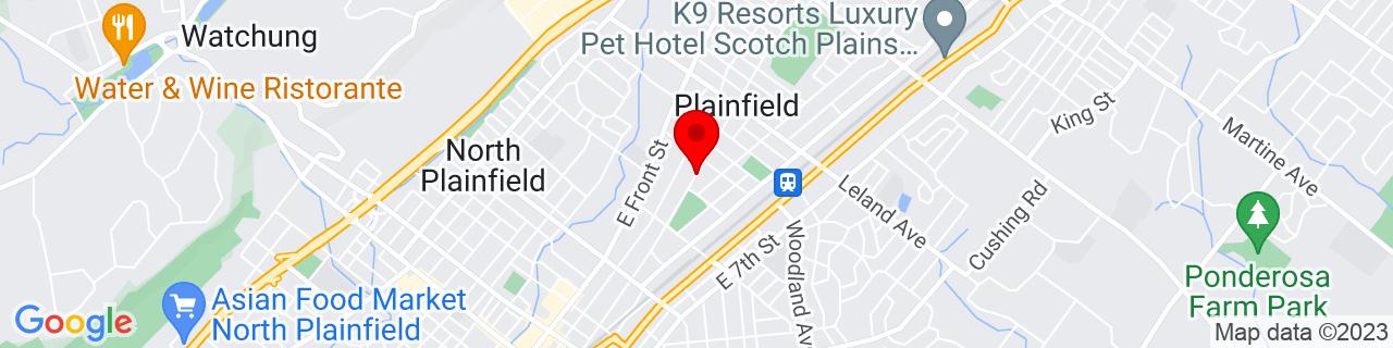 Google Map of 40.6295514, -74.4105599