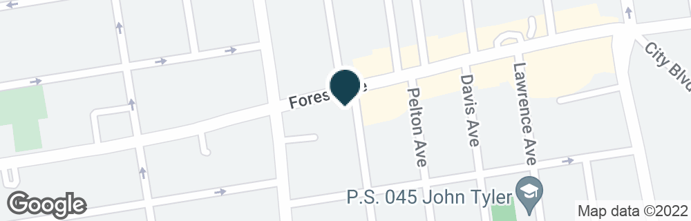 Google Map of630 FOREST AVE